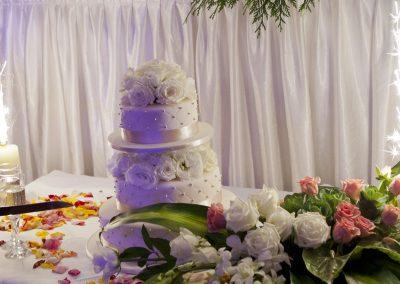 wedding cake fireworks